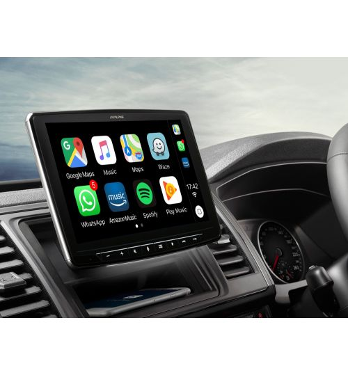 "Alpine Digital Media Station Apple CarPlay Android Auto 9"" Screen DAB Digital Radio -  iLX-F903T6R"