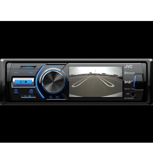 JVC KD-X561DBT Mechless Car Stereo - Bluetooth DAB USB/Aux Input MP3