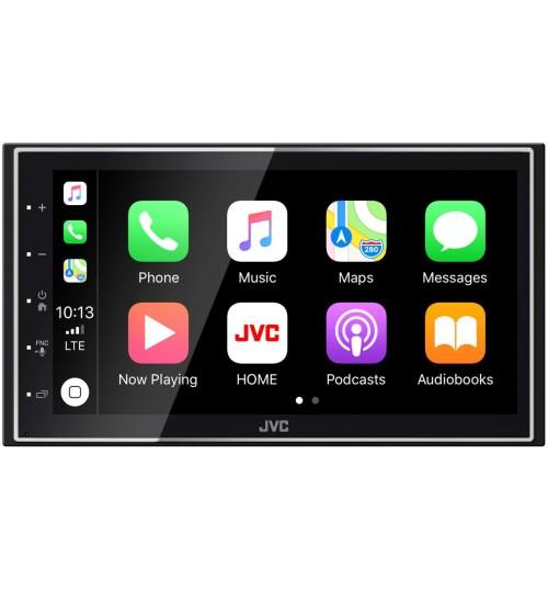 JVC KW-M745DBT Double Din Car Mechless Stereo Car Play Bluetooth DAB Digital Radio