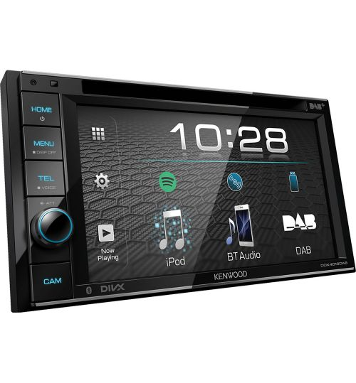 "Kenwood DDX-4019DAB 6.2"" WVGA DVD-Receiver with Bluetooth & DAB Radio Built-in."