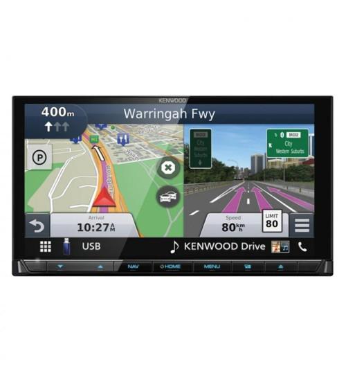 "Kenwood DNX9190DABS 6.8"" HD AV-Receiver/Navigation System WiFi & DAB CarPlay"
