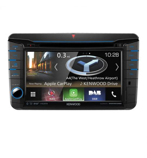 """Kenwood DNX518VDABS 7"""" VW Navigation CD DVD Bluetooth Carplay Stereo Android Auto"""