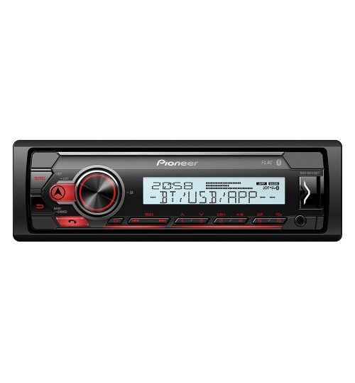 Pioneer MVH-MS410BT Marine Radio Bluetooth USB 1-DIN Radio Boat and Bath Rooms