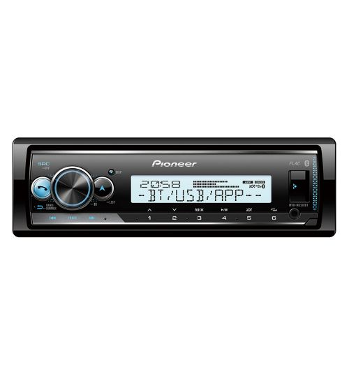 Pioneer MVH-MS510BT Marine Audio Mechless MP3 Radio with Bluetooth USB iPod Aux in Player