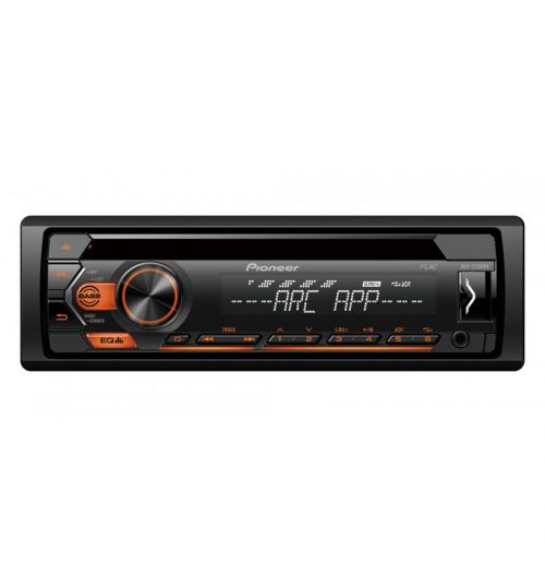 Pioneer MVH-S120UBA Mechless Car Stereo RDS tuner USB Aux-In Android Amber Illumination