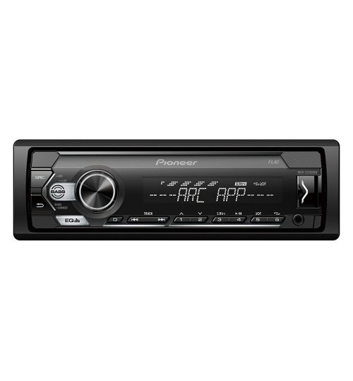 Pioneer MVH-S120UBW Single Din With white illumination, USB and compatible with Android devices