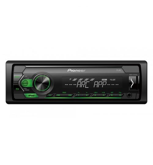 Pioneer MVH-S120UIG Mechless Car Stereo iPod iPhone Android Spotify USB Green Illumination