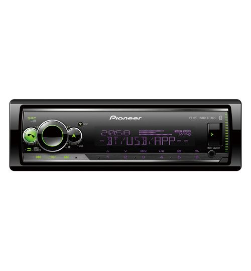 Pioneer MVH-S520BT Mechless Player with Bluetooth, multi colour illumination, USB and Spotify
