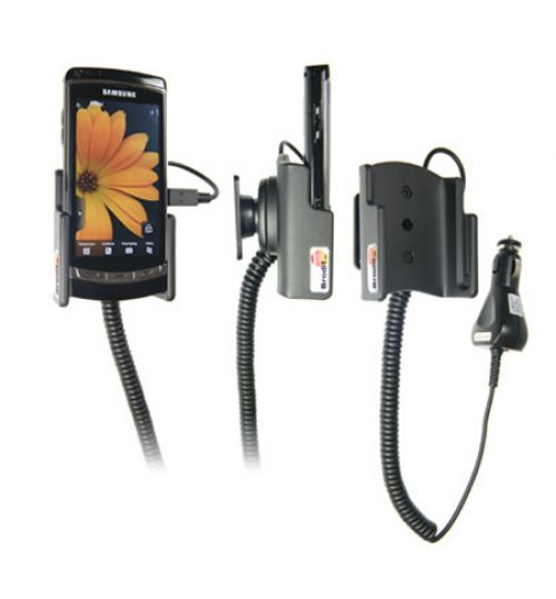 512020 Active holder with cig-plug for the Samsung Omnia HD