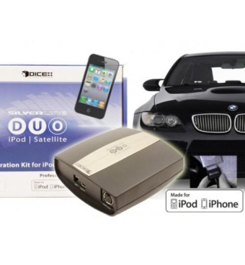 Honda Dice Silverline DUO iPod iPhone Interface Adaptor with SIRIUS and Internet Radio - DUO-101