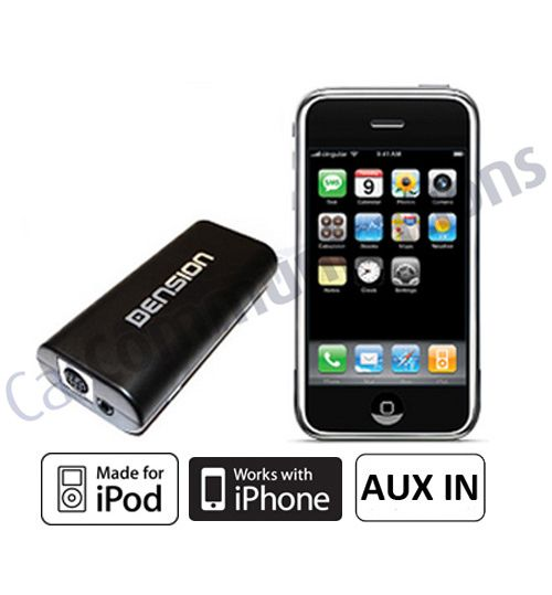 Dension iGateway GW17AC2 - Audi A2, A3, A4, A6, A8, TT iPod iPhone Interface Adaptor