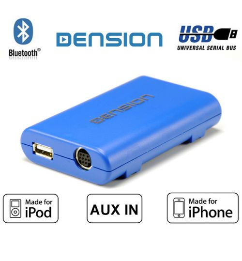 Dension Gateway Lite BT GBL3HB1/A2DP non-text Honda iPod iPhone/USB/AUX/Bluetooth Interface Adaptor