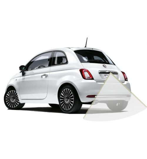 "Fiat 500 Reversing Camera Kit with Guidelines for 5"" Uconnect"