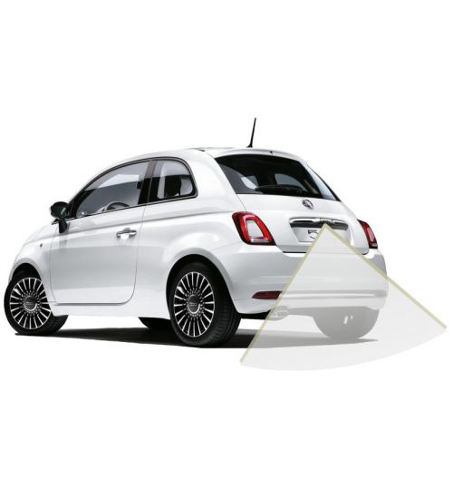 "Fiat 500 Rear View Reversing Retrofit Camera Kit - 7"" Uconnect System"