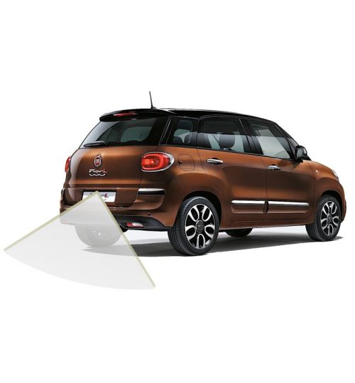 "Fiat 500L Rear View Reversing Retrofit Camera Kit - 7"" Uconnect System"