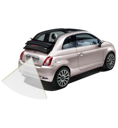 "Fiat 500C Rear View Reversing Retrofit Camera Kit - 7"" Uconnect System"
