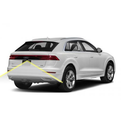 Genuine Audi Q8 Rear View Reversing  Camera Kit with moving guidelines