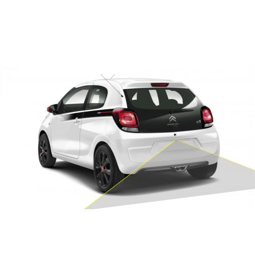 CITROEN C1 Reversing Rear View Camera Kit with Guidelines