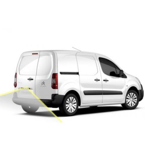 Citroen Berlingo Reversing Rear View Camera Kit With Guidelines