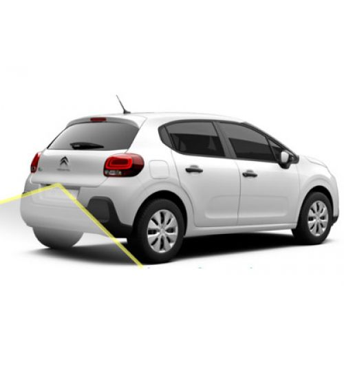 Citroen C3 2017+ Reversing Rear View Camera Kit with Moving Guidelines