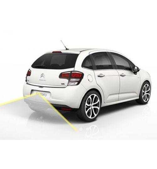 Citroen C3 Reversing Rear View Camera Kit with Guidelines