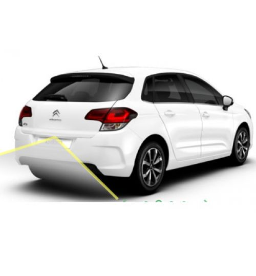 Citroen C4 2017+ Reversing Rear View Camera Kit with Moving Guidelines