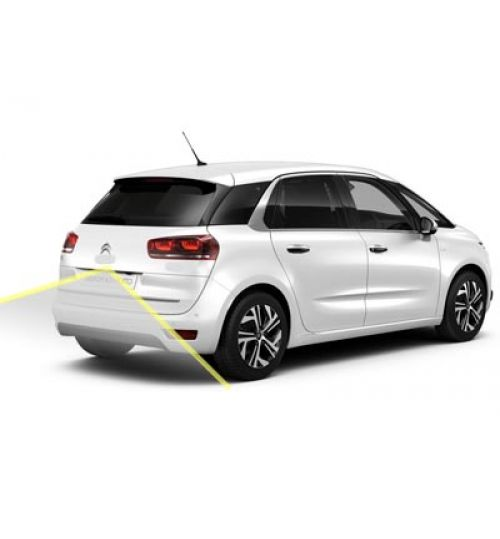 Citroen C4 Picasso 2017+ Reversing Rear View Camera Kit with Moving Guidelines