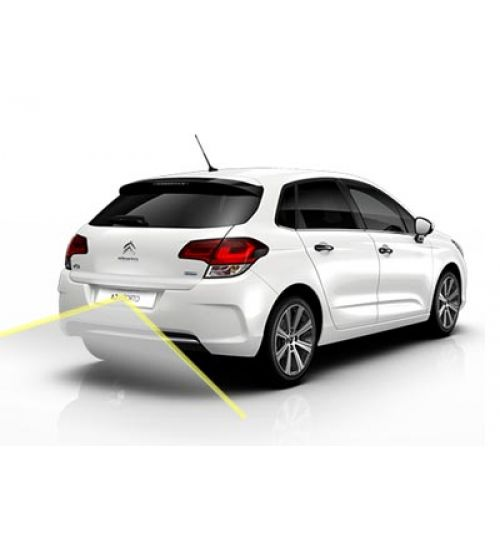 Citroen C4 Reversing Rear View Camera Kit With Moving Guidelines