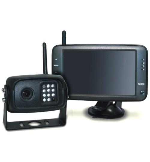 "Wireless Camera Kit with 5"" monitor and Night Vision Camera"