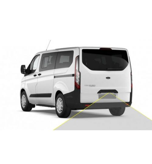 Ford Transit Custom with Number Plate Light Camera Kit