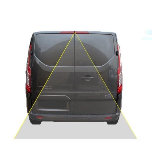 Ford Transit Custom Reversing Rear View Camera Kit (Barn Doors)
