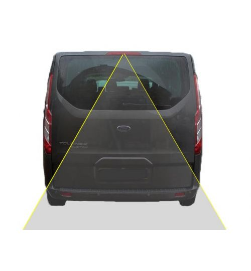 Ford Transit Custom Reversing Rear View Camera Kit (Tail Lift)