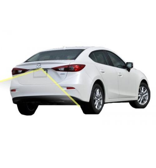 Mazda 3 Reversing Rear View Camera Kit With Guidelines