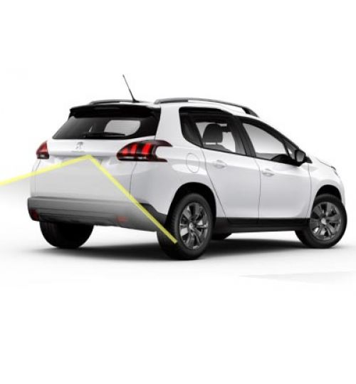 Peugeot 2008 Reversing Rear View Camera Kit with Guidelines