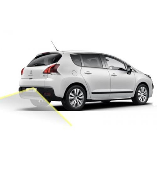 Peugeot 3008 Reversing Rear View Camera Kit with Guidelines