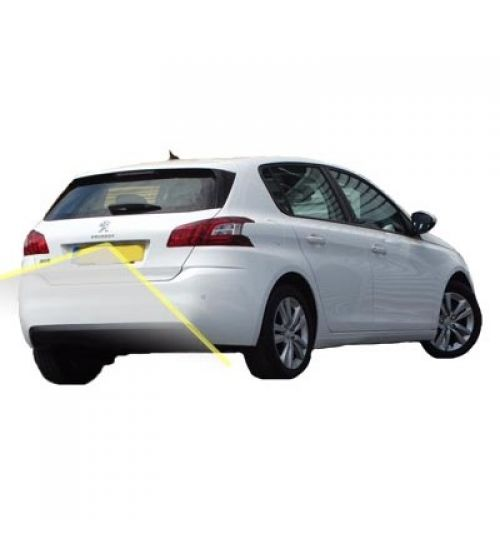 Peugeot 308 Reversing Rear View Camera Kit with Guidelines