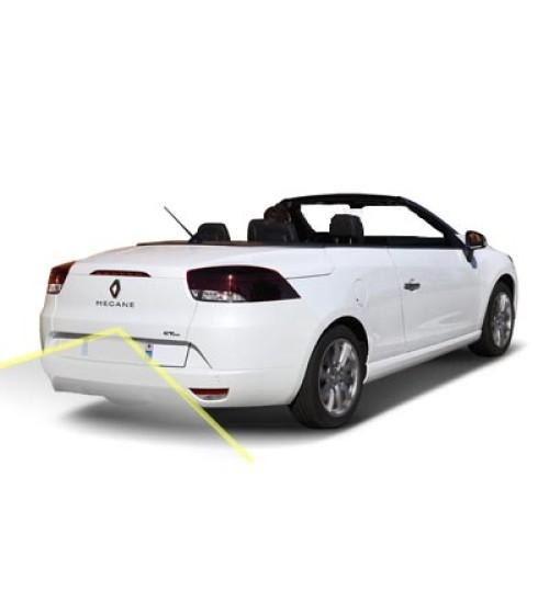 Renault Megane Cabriolet Reversing Rear View Camera Kit for Tom Tom Radio