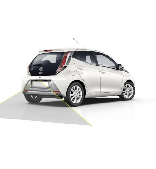 TOYOTA AYGO Reversing Rear View Camera Kit with Guidelines