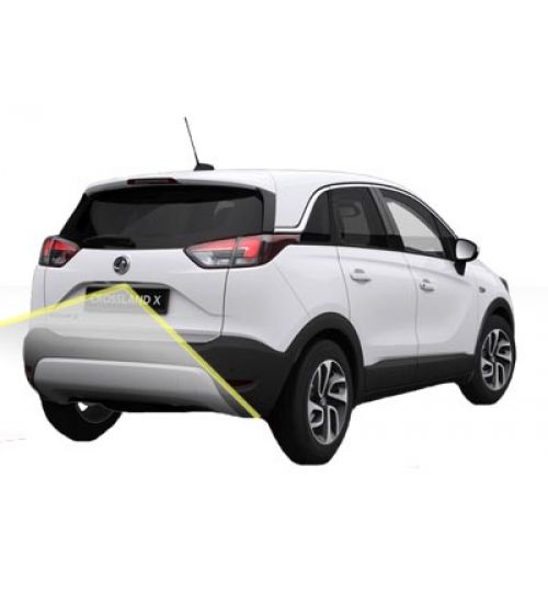 Reversing Rear View Camera Kit for Vauxhall Crossland X with Navi 5.0