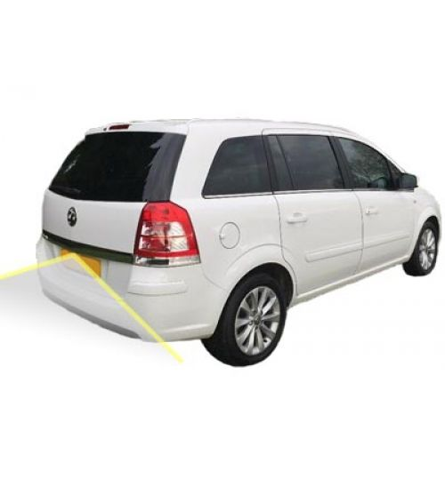 Vauxhall Zafira Reversing Rear View Camera Kit with Guidelines