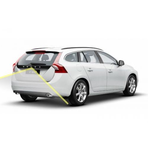 Volvo V60 Reversing Rear View Camera Kit with Guidelines