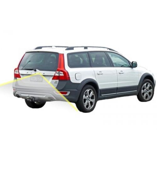 Volvo XC70 Reversing Rear View Camera Kit with Guidelines