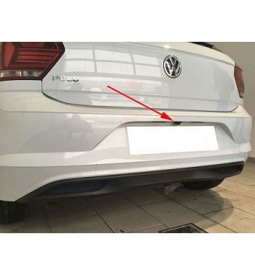 VW Polo (AW) Rear View Camera Kit with Fixed Lines Retrofit
