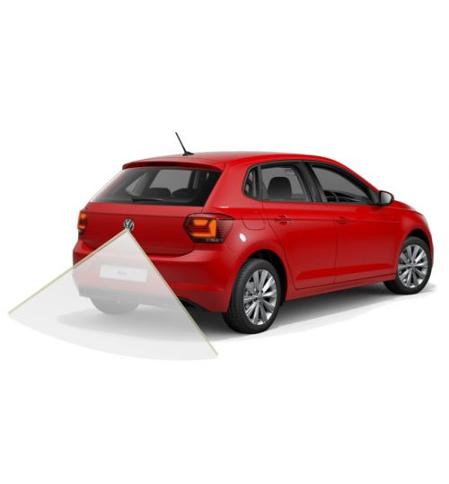 VW Polo AW 2020 Reversing camera Kit Solution with VW Emblem Camera and Dynamic Guidelines - Highline