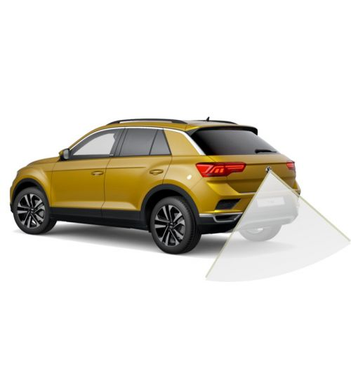 VW T-ROC 2020 Reversing camera Kit Solution with VW Emblem Camera and Fixed Guidelines - Lowline