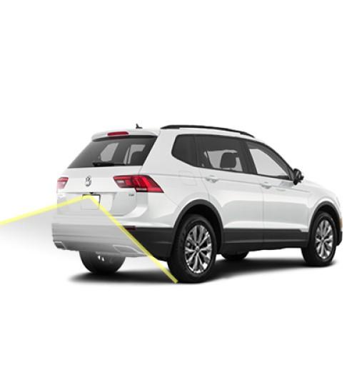 Volkswagen Tiguan Reversing Rear View Camera Kit 2016+ Moving Lines