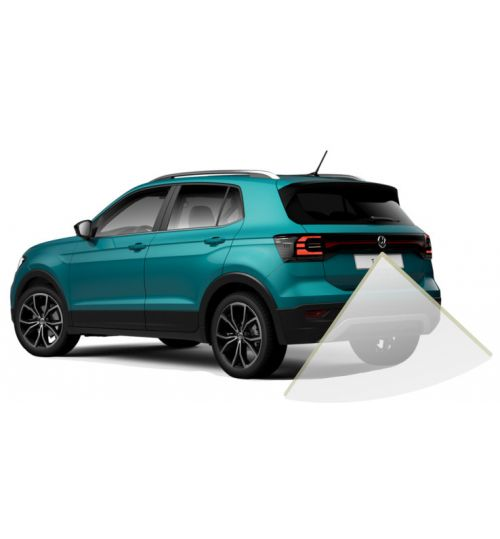 Genuine Volkswagen T-Cross Rear View Reversing Retrofit Camera Kit - Highline