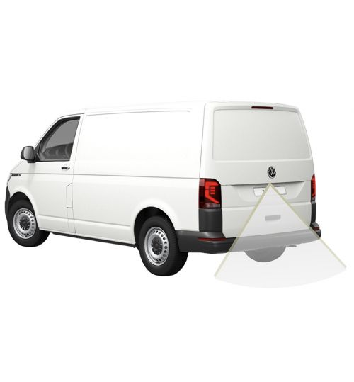 Volkswagen (VW) Transporter T6.1 (Tail Lift) Reversing Camera Kit - Low line