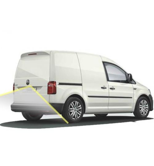 VW Caddy SA Reversing Camera Kit With Guidelines