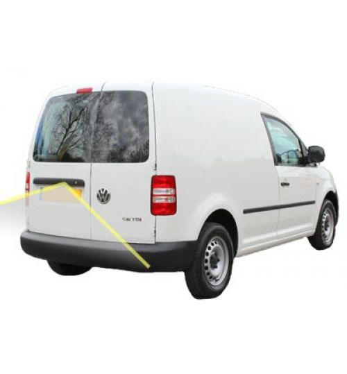 VW Caddy SA With Barn Doors Reversing Camera Kit With Guidelines